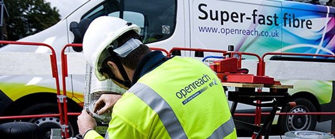 put the open in openreach