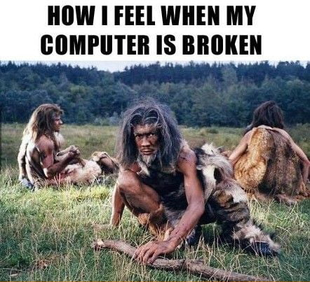 my computer is broken
