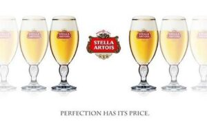 Stella Artois - is reassuringly expensive, just as good technology should be