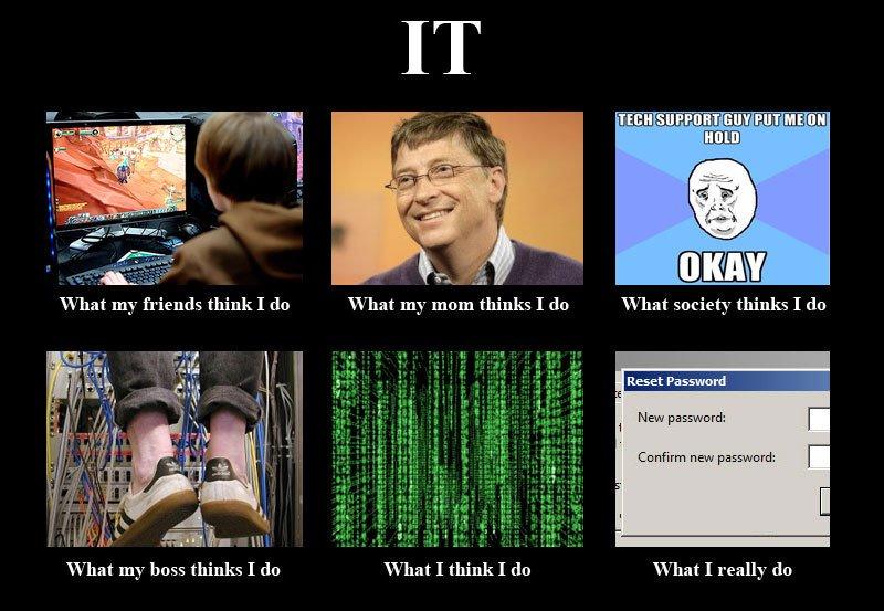IT Management meme, various funny pictures