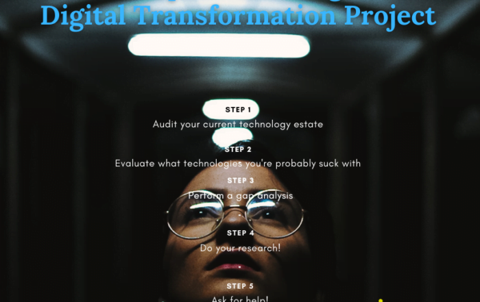 5 Steps to Start a Digital Transformation Project