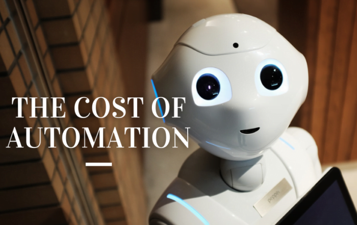 The Cost of Automation