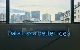 Data Driven Transformation: Data has a better idea image